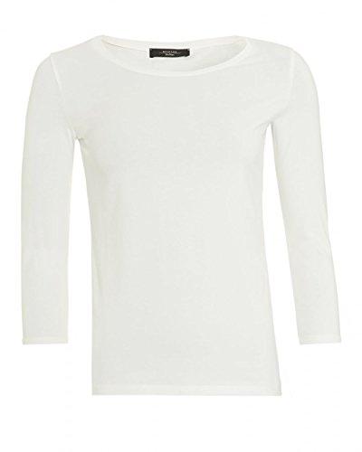 max-mara-weekend-womens-multi-c-t-shirt-white-three-quarter-sleeve-tee-m-white