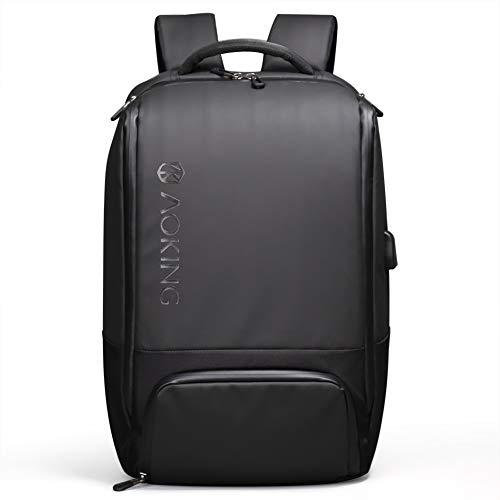 d4c57a5e71 Mifusanahorn Zaino per Laptop da Viaggio, Zaino per Portatili Business con  Porta di Ricarica USB