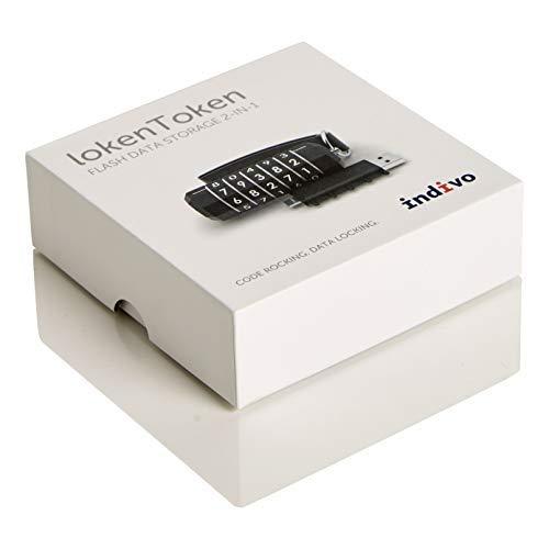 LokenToken USB Flash Drive Type-C 32 Gb, USB 3.0, Black