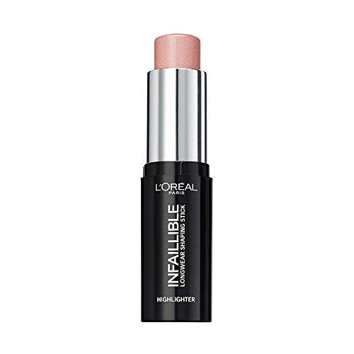 L'Oréal Paris Highlighter Makeup Infaillible Strobing, Kontur-Stick 501, 1er Pack (1 x 9 ml) (Stick Preise Glow)