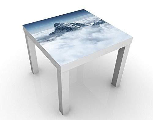 Apalis 46134-276712 Design Table Les Alpes sur Les Nuages, 55 x 55 x 45 cm