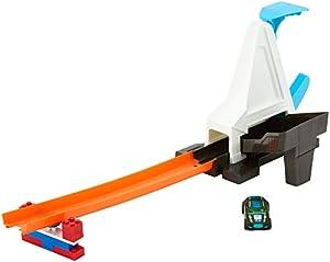 Hot Wheels- Lanzador Veloz, Pista de Coches de Juguete, Multicolor (Mattel DWW94)