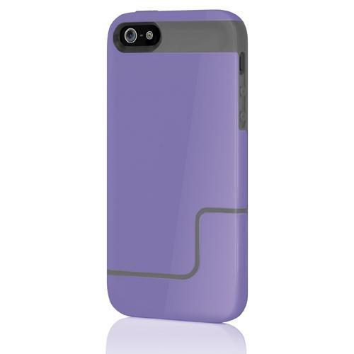 Incipio IPH-832 Edge Pro Hard Case für Apple iPhone 5/5S/SE lila/grau Incipio Edge Pro Iphone