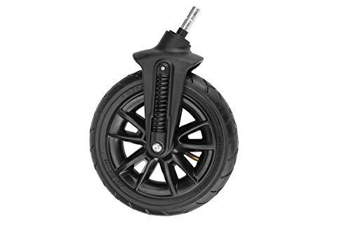 Kinderkraft KKAMOOVKOLOPRZ Moov Rad Vorderrad Räder Ersatzteil Vorne Link Rechts Kinderwagen Buggy Zubehör, schwarz