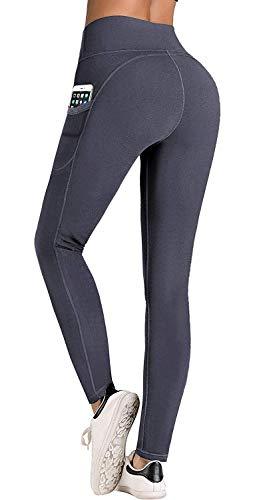 IUGA Pantalones de Yoga con Bolsillos