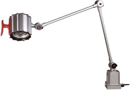 LAMPARA LED MAQUINA DE 6X 1W  BRAZO ARTICULADO PROTECCION IP 65