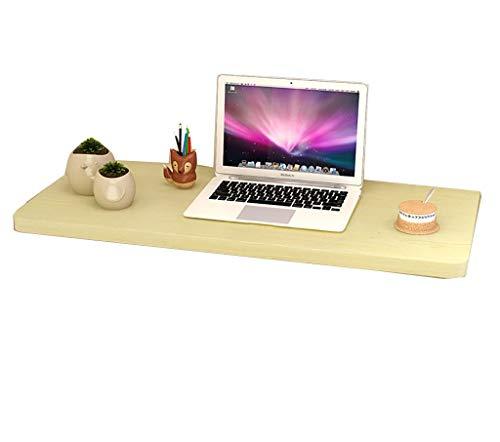 zdz Einfache Klapptisch Esstisch Computer Schreibtisch Beistelltisch Licht Nussbaum, Multi, Weiß Ahorn Farbe (Größe: 50 * 30 cm)