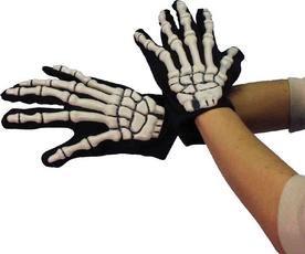 Skeletthandschuhe Halloween Knochen Handschuhe Skelett