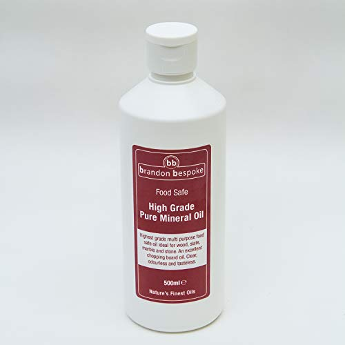 es Mineralöl - Schneidebrett Öl - Holz, Schiefer oder Stein - 500ml (lebensmittelecht) ()
