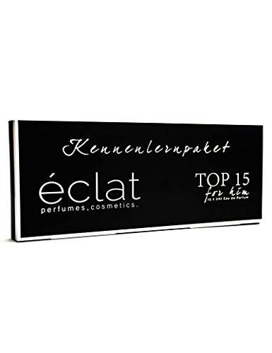 ÉCLAT TOP 15 Herrendüfte Parfümproben Duftproben Kennenlernset -