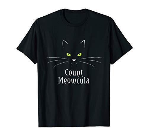 er Halloween Meowcula Kitty Kostüm  T-Shirt ()