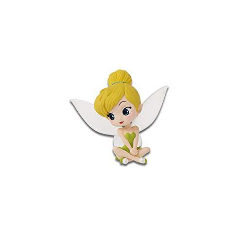 Figura de Colección CAMPANITA Tinkerbell de Peter Pan 5cm Serie QPOSKET Petit Fantastic Time 2 Banpresto Disney Characters