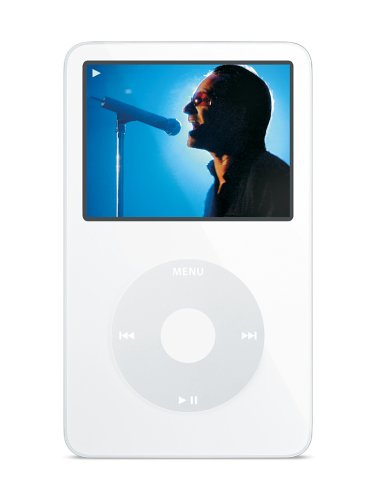 Apple iPod Video MP3-Player 60 GB (5. Generation) weiss (Für Mac Applecare Protection Plan Pro)
