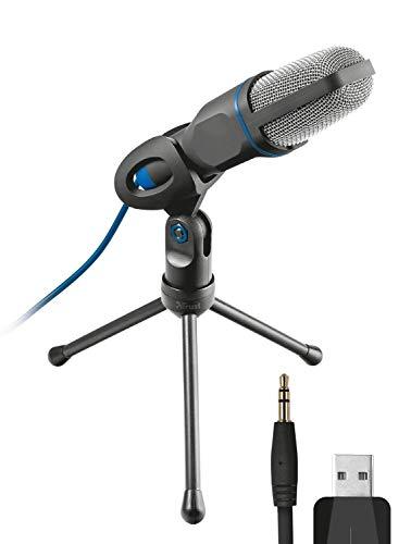 Trust Mico USB-Mikrofon schwarz