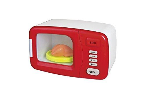 Preisvergleich Produktbild Happy People 45187 - Haushaltsspielzeug Mikrowelle, rot/weiß