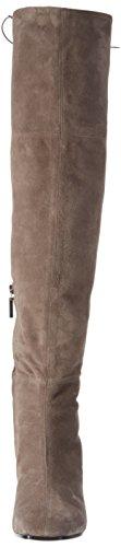 Oxitaly - Wanda 84, Stivali sopra il ginocchio con imbottitura leggera Donna Marrone (Braun (donkey))