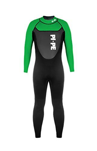 Active Full Long Sleeve Neoprenanzug, grün/schwarz - 3