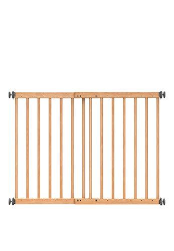 DOLLE Türschutzgitter aus Holz | Klemmgitter | Breite: 61,0-101,7 cm | Höhe: 70 cm | Sicherheitsgitter | Türgitter | ohne Bohren | TÜV/GS geprüft | Massivholz