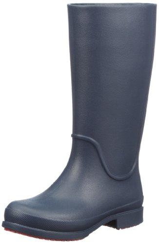 crocs Wellie Rain W 12476 Damen Gummistiefel Blau (Navy/Cranberry 417)