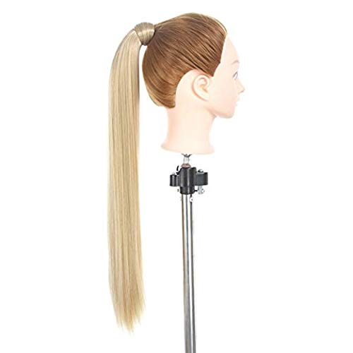 Wrap around ponytail extension one piece magic pasta parrucchino sintetico dritto ricci 61 cm