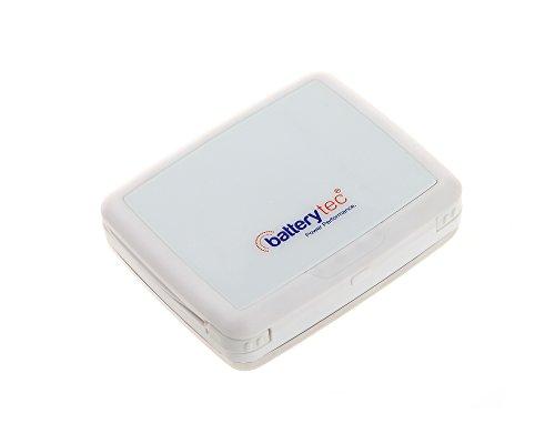 Batterytec® 7500mAh caricatore portatile di sostegno di batteria Banca di potere esterno per iPad Air, mini, iPhone 5S, 5C, 5, 4S, Galaxy S5, S4, S3, nota 3, Nexus 4, 5, 7, 10, HTC One, One 2 (M8), Motorola Droid, MOTO X, LG Optimus, la maggior parte degli altri smartphone e tablet [Uscita: 5V/1A; BIANCO]