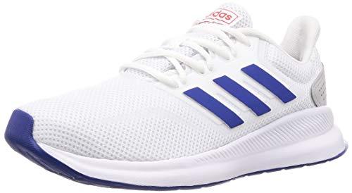 Weiß Blau Herren Schuhe (adidas Performance Herren Laufschuhe Falcon Weiss/blau (902) 42,5)