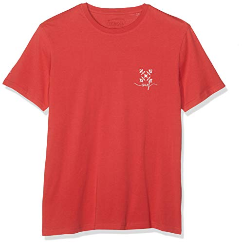 Oxbow TIKLO T- T-Shirt Homme, Rouge Lavé, FR : L (Taille Fabricant : L)