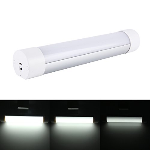 Die Glühbirne 2W 180 LM 6000K USB-Aufladung bewegliches multi-fuctional magnetisches Adsorptions-LED-Licht mit Leselicht-Nachtlicht-im Freien helles blaues Licht + rotes Licht-Röhrenblitz-Warnlicht-Modelle, 5V / 1000mA