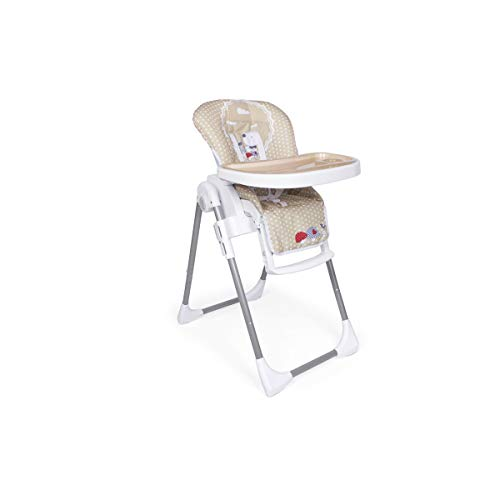 Trona Nature Plegable para bebés de 6 a 36 meses - Ultraligera - Regulable en 6 alturas