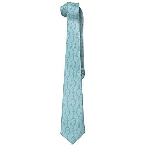 Pillowcase Wholesale Retro Cute Narwhal Men's Skinny Necktie Tie Neckwear