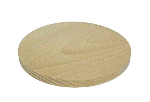 Tabla cortar circular madera 20 cm cocina madera maciza