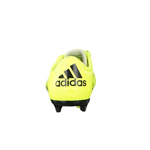 X 15.3 FG/AG Cuir Enfants - Chaussures de Foot yellow