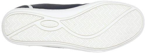 Kappa Kent Low Footwear Men, Synthetic, Baskets mode homme Bleu (6710 Navy/white)