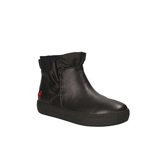 Fornarina Damen Yuma Hohe Sneaker Black