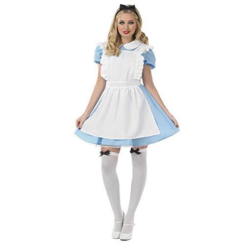 Fun Shack Damen Costume Kostüm Alice Classic, m (Alice Kostüm)