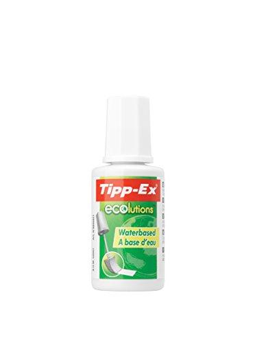 BIC Korrekturfluid Tipp-Ex® ECOlutions® Aqua, Flasche 20ml, weiß