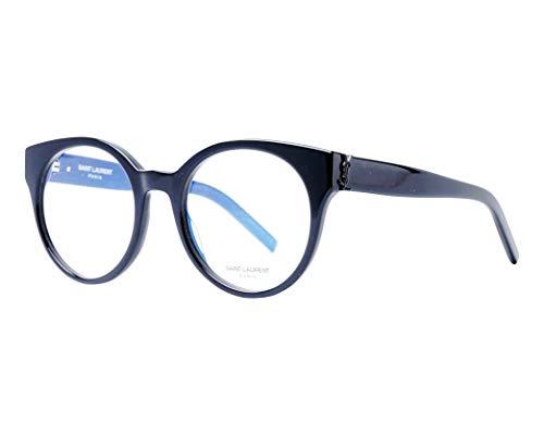 Yves Saint Laurent Brille (SL-M-32 001) Acetate Kunststoff glänzend schwarz