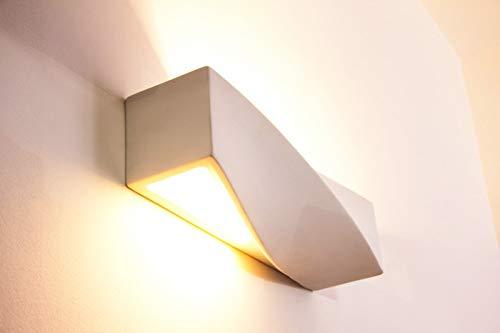 Applique lunetta gesso lampada da parete a milano kijiji