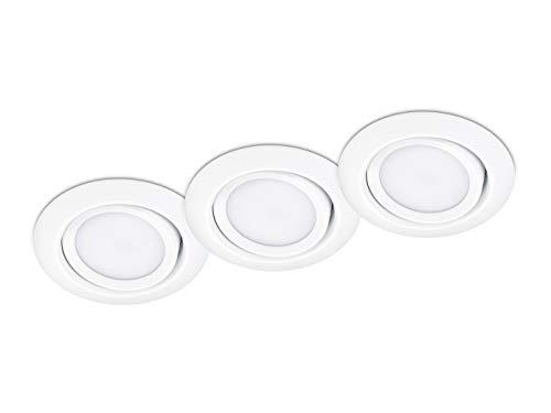 Trio Inkl. 3 LED-Leuchtmittel E14, 6 W, 3x470 lm, Warmweiß (3.000 K)