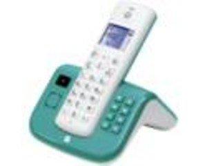 Motorola T211CT Schnurlostelefon weiß/türkis