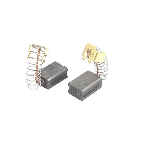 Sourcingmap® 20pzas Escobillas de carbón para Herramienta eléctrica Resorte Motor de Taladro percutor eléctrico