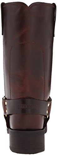 Durango Db594, Bottes Motardes homme DB514 Rubbed Brown
