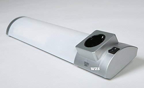 StarLicht 8W Wand- und Deckenleuchte T5 ( 40W Licht ) RHODOS CUT-CASE 6BOX TITAN 4000K 420lm EEK:A