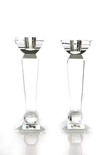 VOGUISH Twins-2Grandes/Vela Soporte Vela Cristal/Cristal