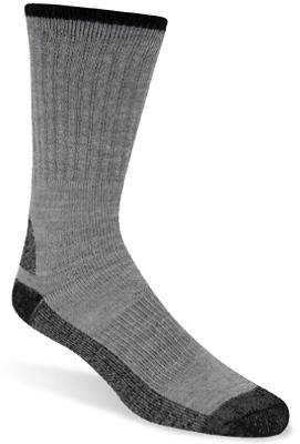 WIGWAM MILLS INC - Work Socks, Gray, Men's Medium, 2-Pk. (Work 2 Socks Pack)