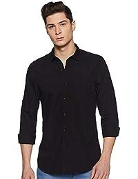 Lee Men's Solid Slim fit Casual Shirt