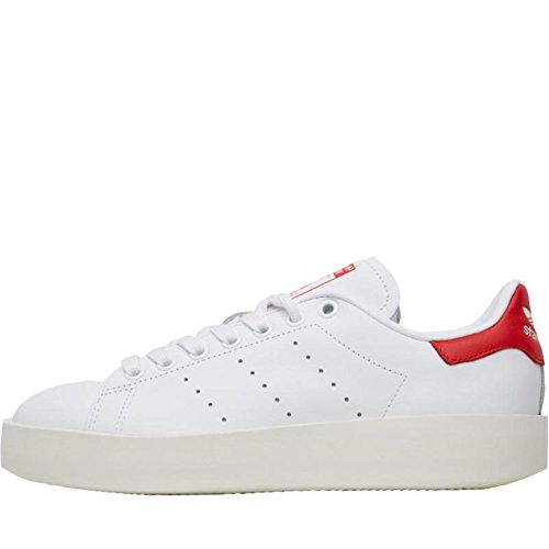 adidas Stan Smith Bold W White White Red running white-running white-collegiate red