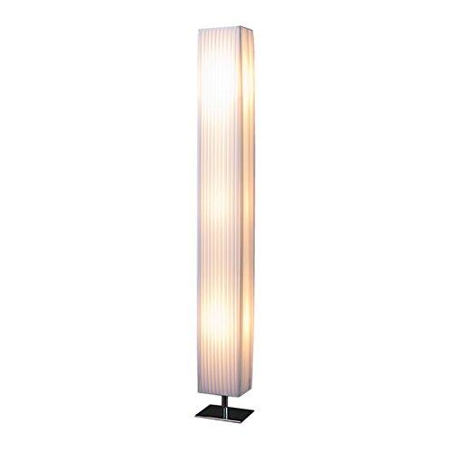 Stylische Stehlampe PARIS 160cm weiss -