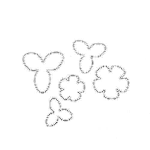 Xmiral Scrapbooking Stanzschablone, Kürbislicht Pfau Brief Streifen Schneeflocke Eule(H)