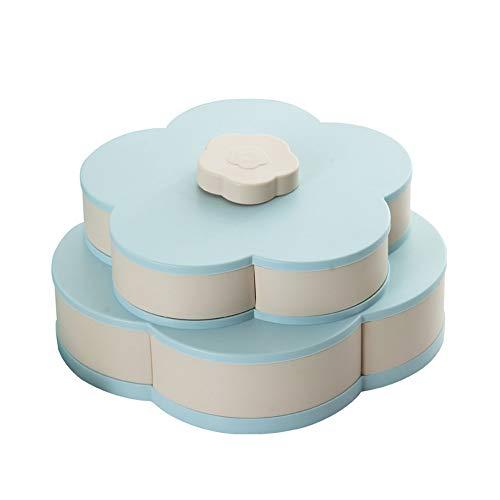 HC Genießen Sie Life-Bloom Snack Box Flower Design Candy Friut Aufbewahrungsbox (Bloom Box)